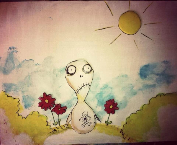 Tim Burton by eride